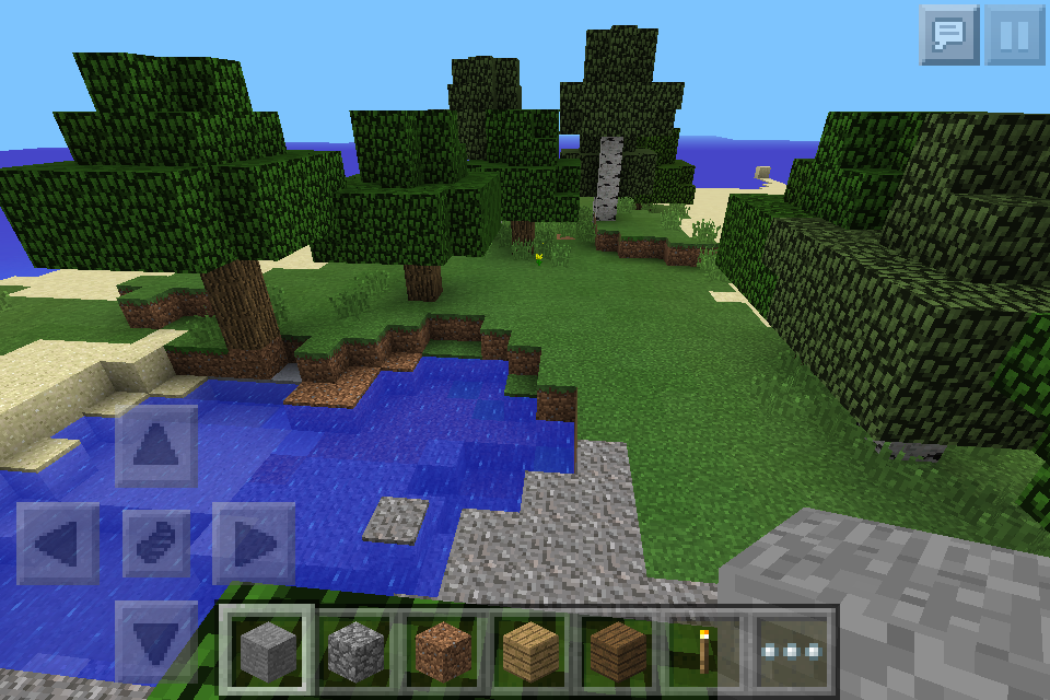 how to grow sugarcane in minecraft pe creative