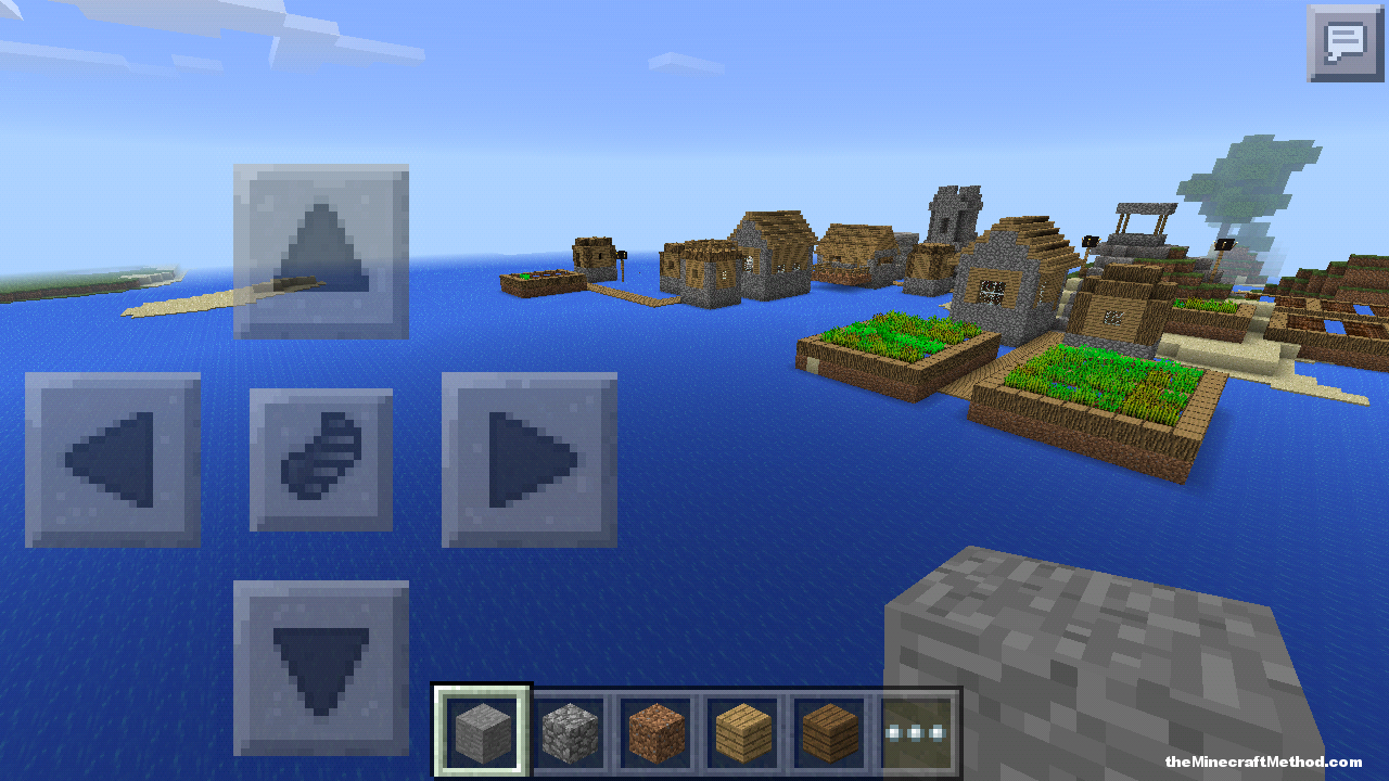 Dual-Biome City Seed for Pocket Edition - Minecraft Seed HQ