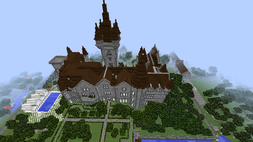 Belgian Inspired Chateau Maps Mapping And Modding
