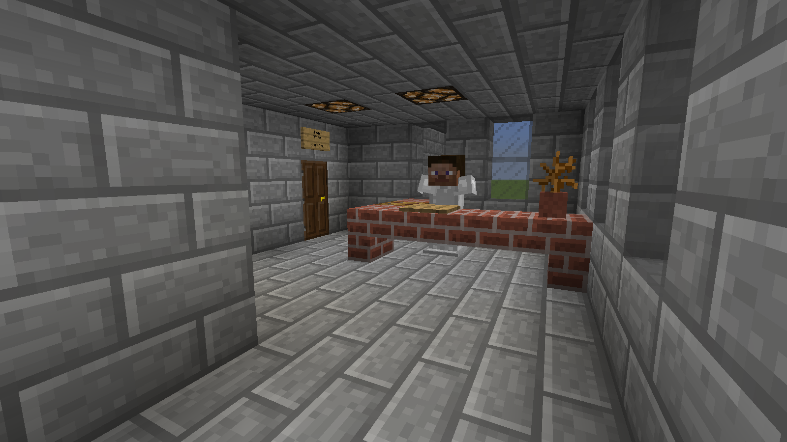 How To Build A Jail Cell In Minecraft