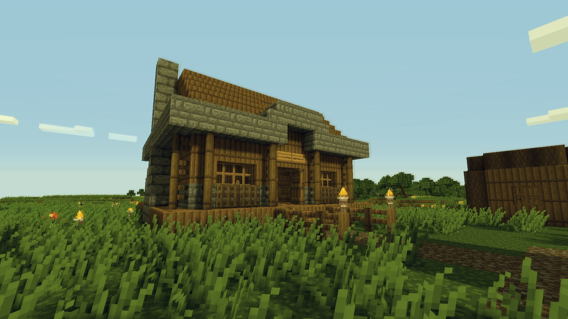 Pre built house map maps mapping and modding java for Already made houses