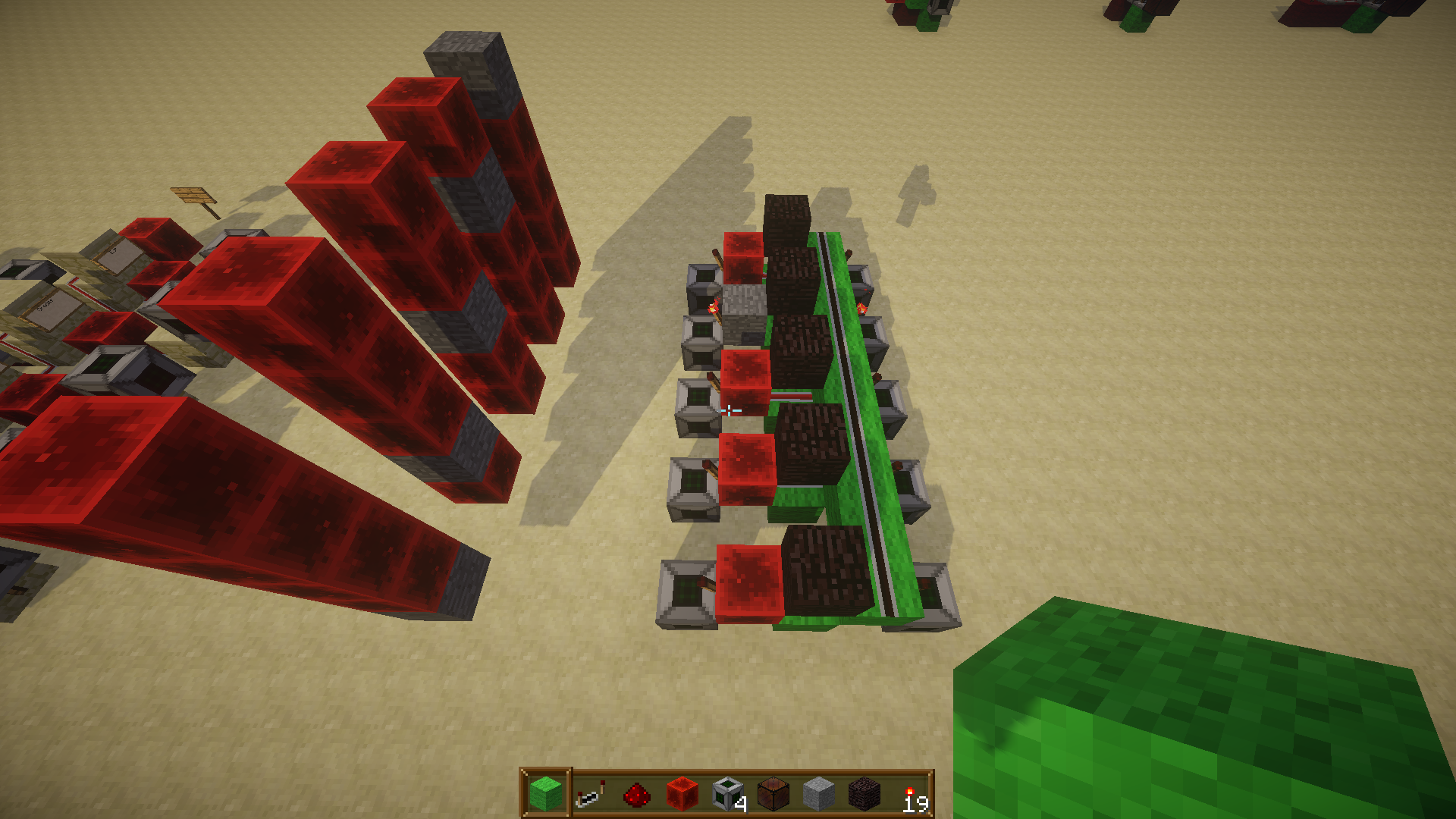 how to use fill command with a command block