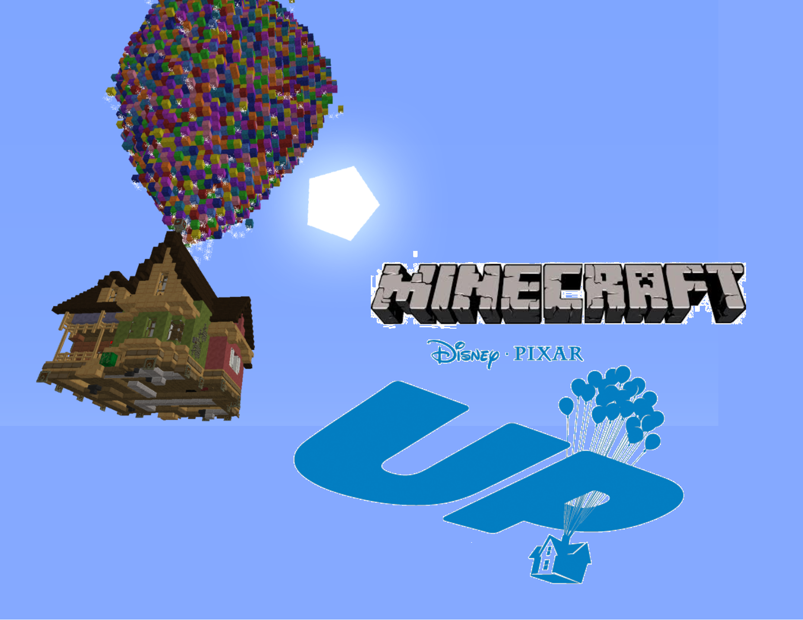 minecraft pixar up house maps mapping and modding