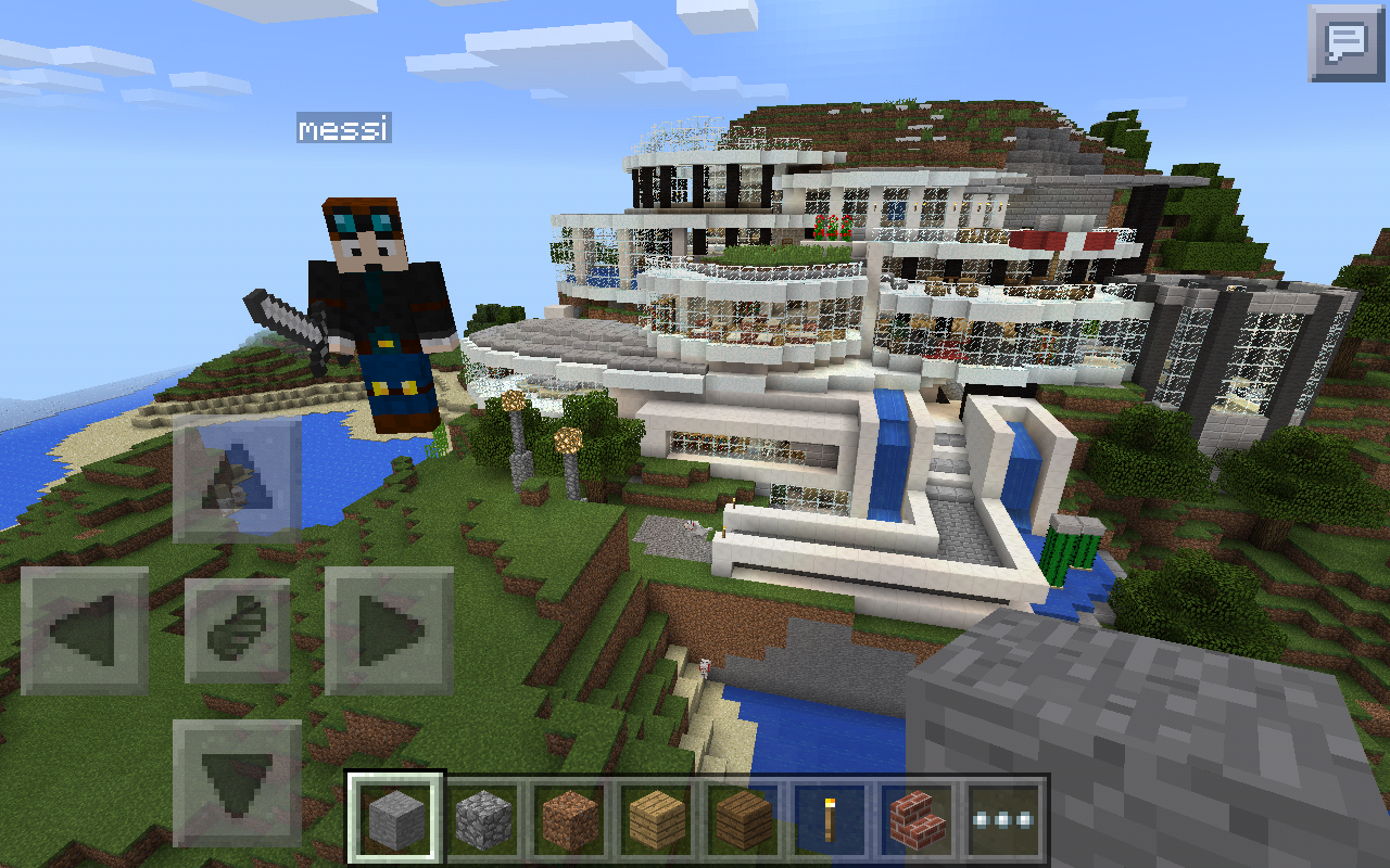 Biggest Minecraft House In The World 2014 big modern house ever