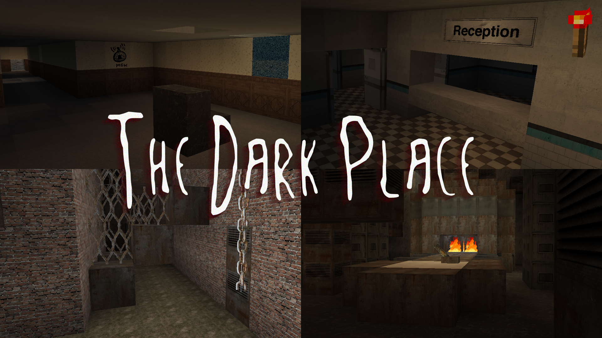 Scary Dark Place (Invisible Zomb...