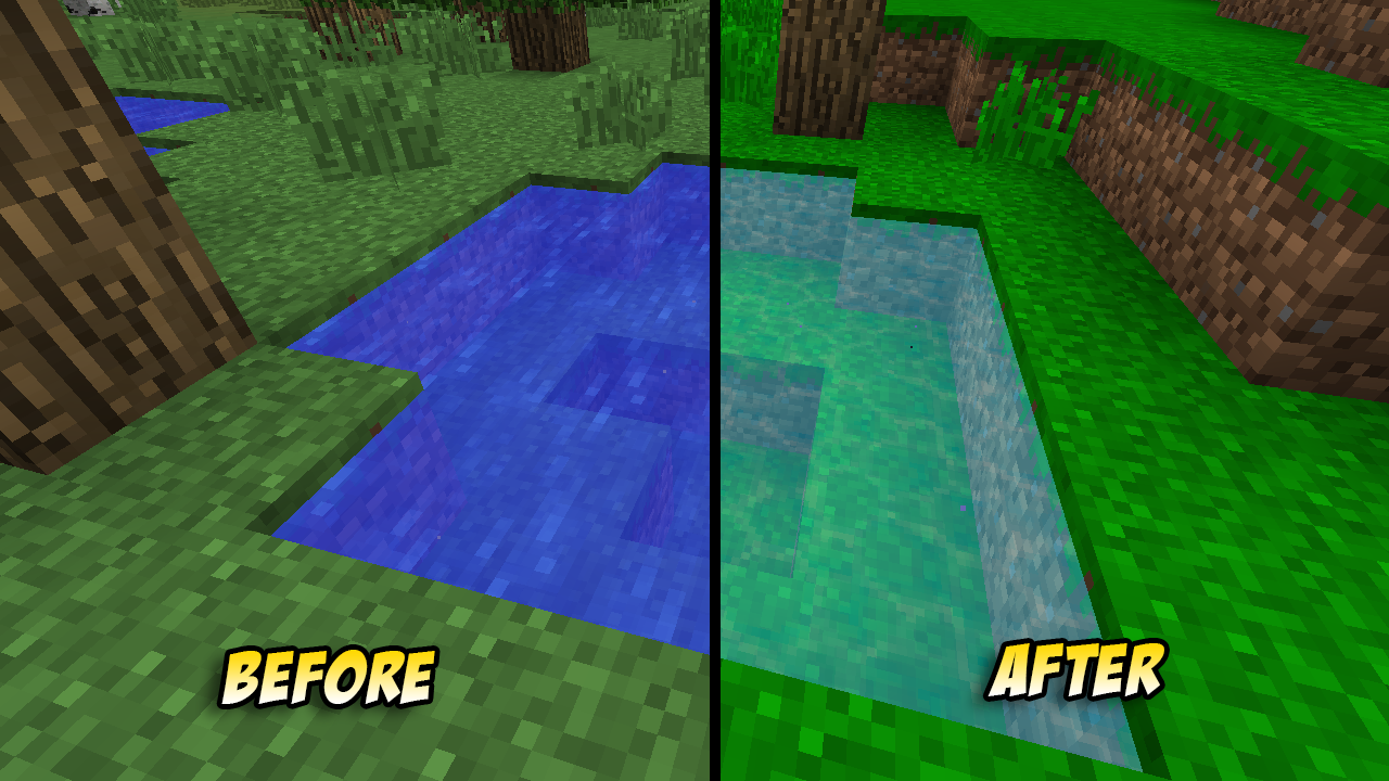 how to keep water in place minecraft
