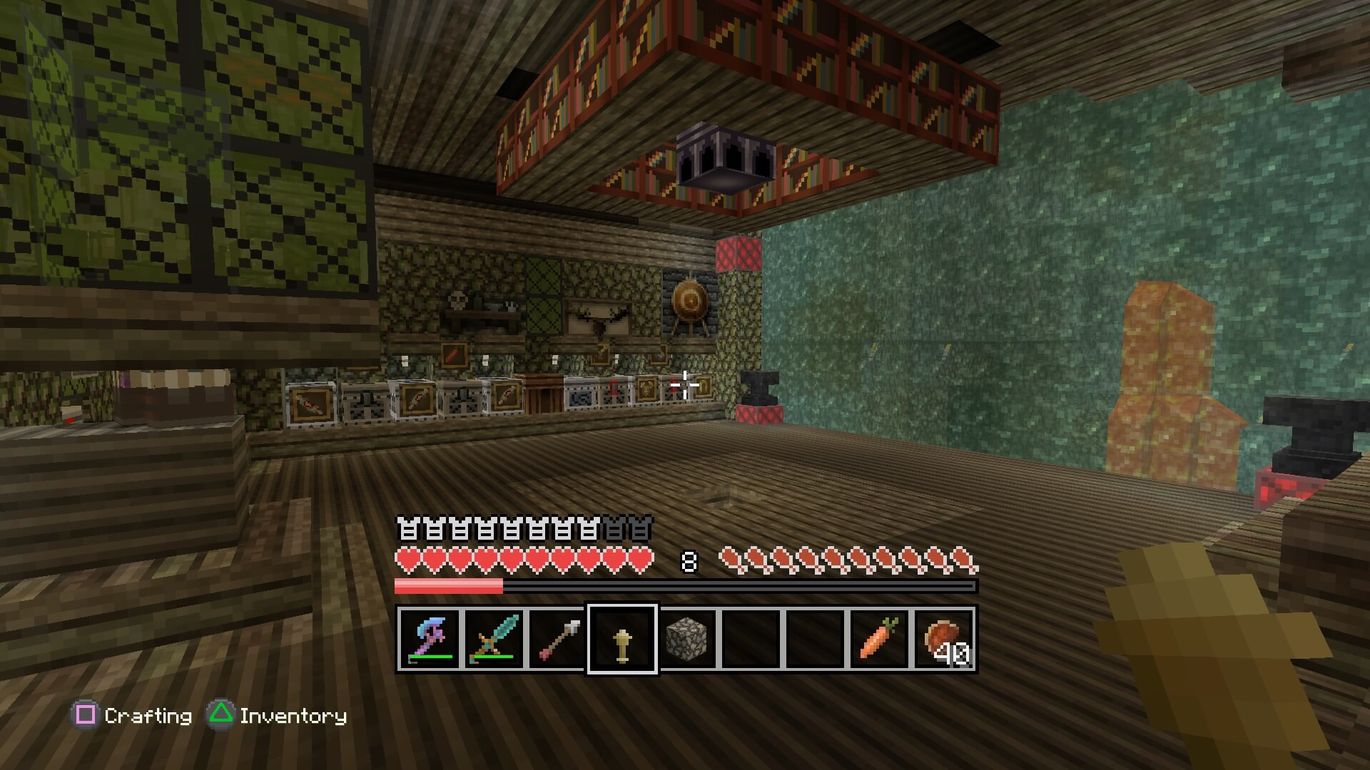 how to set up a sign shop in minecraft