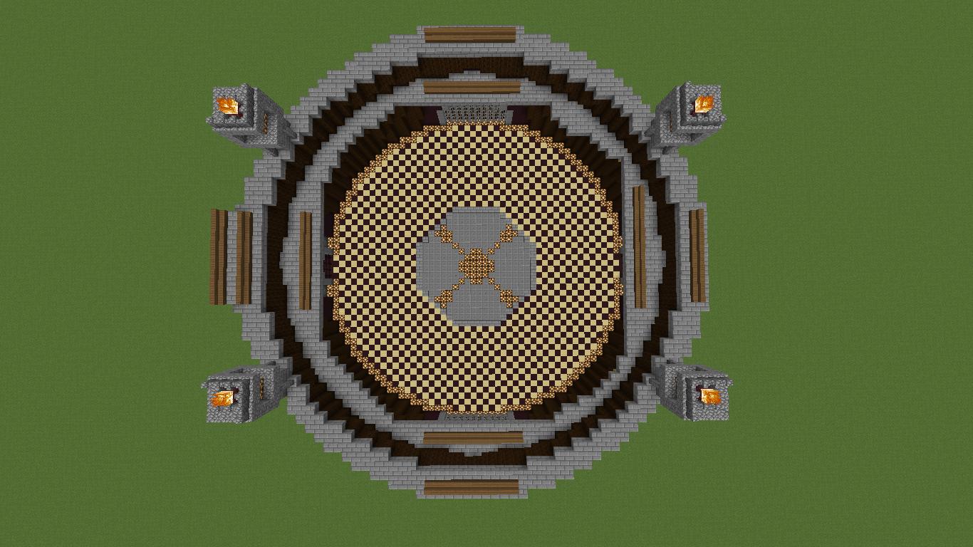 Minecraft maps arena - d0a70