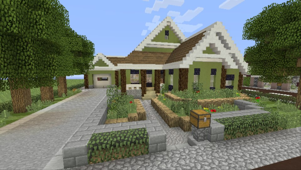 WI map full of houses with interiors - MCPSVITA: Show Your ...