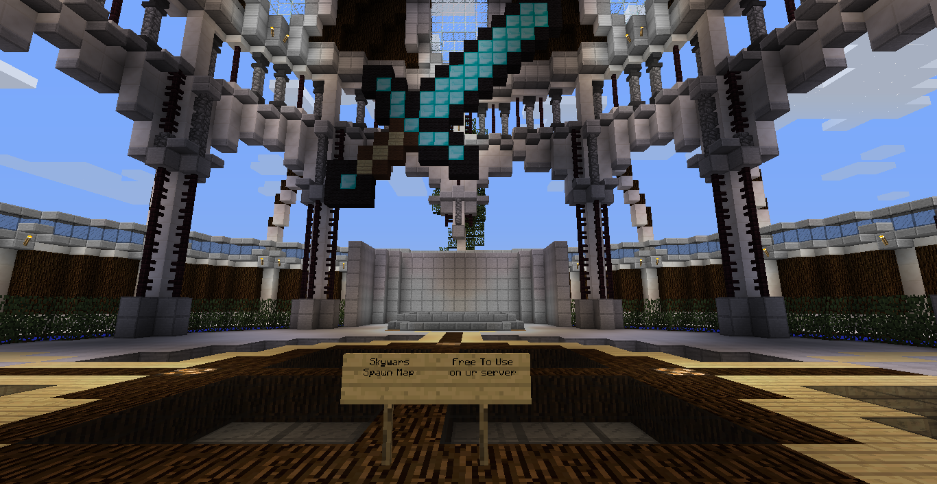 Skywars Spawn Map - Maps - Mapping and Modding: Java