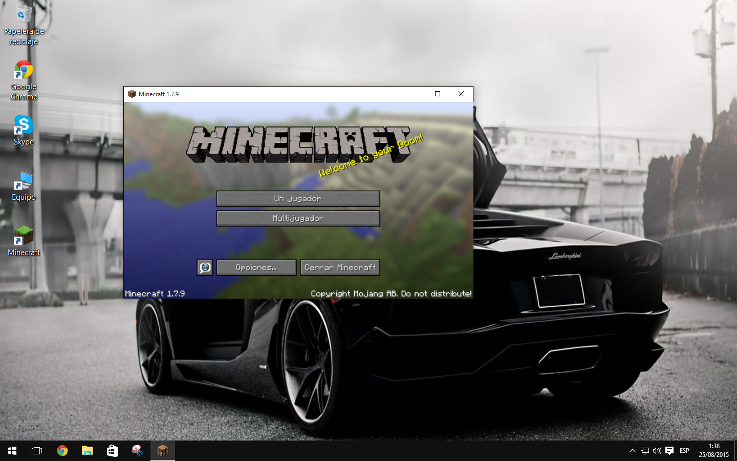 i have problems to start the minecraft in windows 10 unmodified