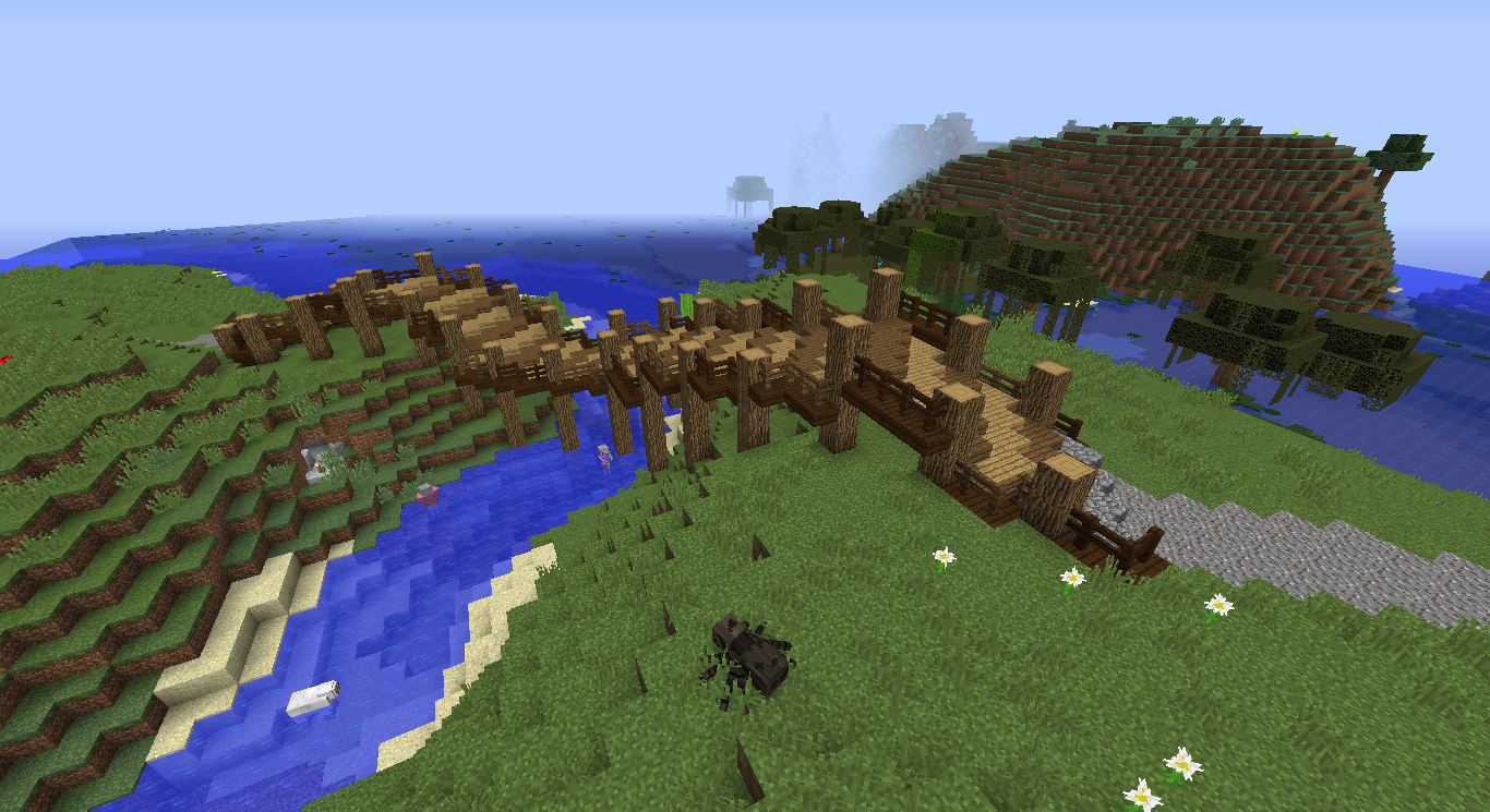 How To Build A Good Bridge In Minecraft