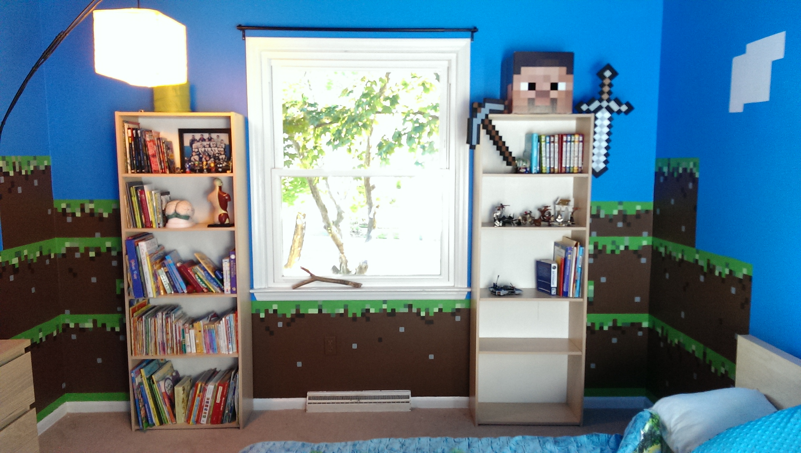 Minecraft Bedroom Furniture Real Life