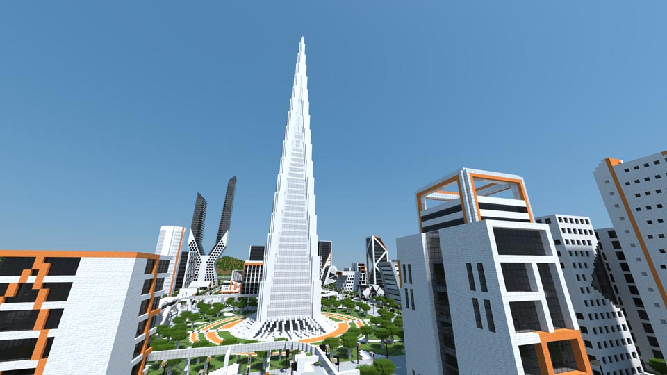 Cre Ono City A Huge Modern City In Minecraft Maps