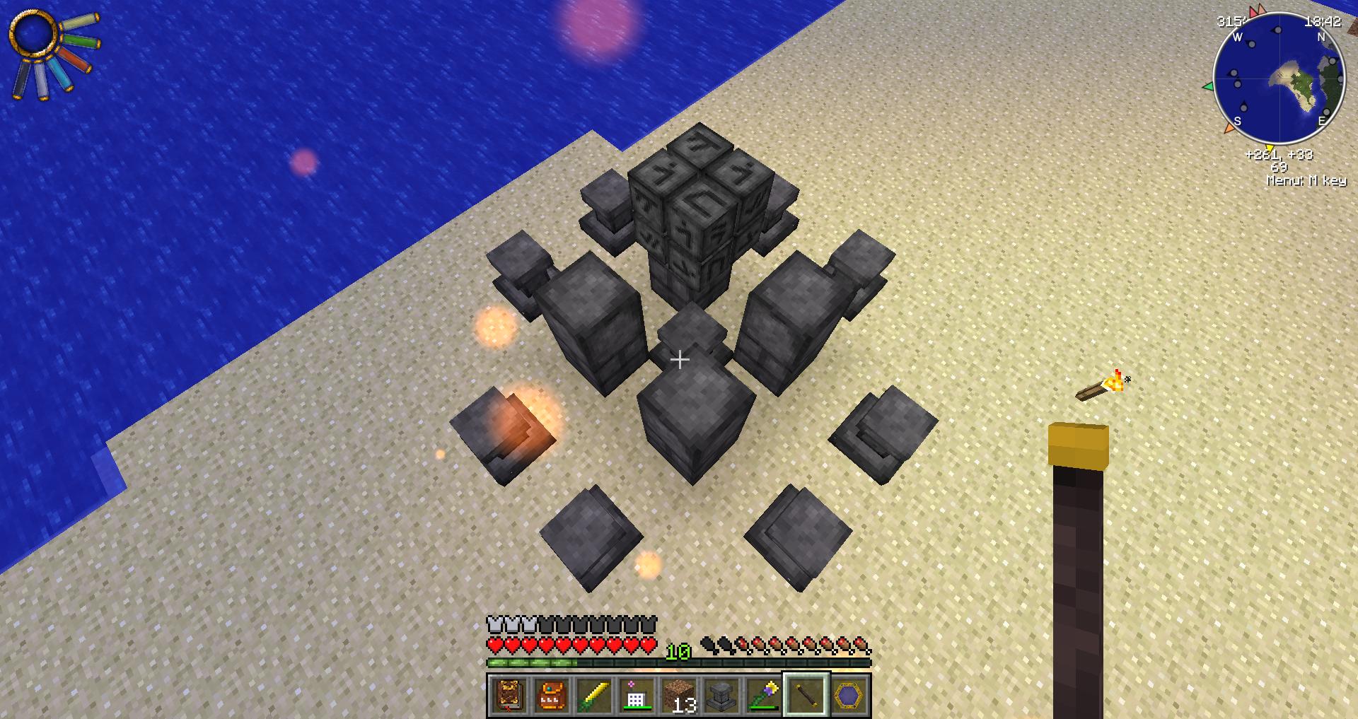Как в thaumcraft 4.2 сделать алтарь в