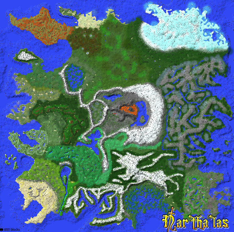 Narthalas  Huge EPIC Minecraft world  Maps  Mapping and