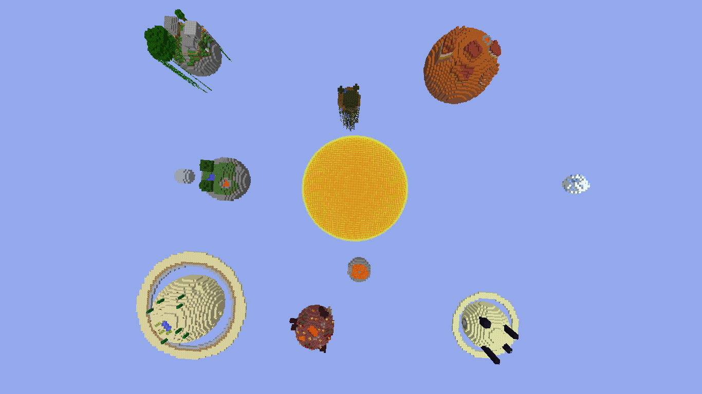 Solar System Survival map by AdminTheGreifer  Maps  Mapping and