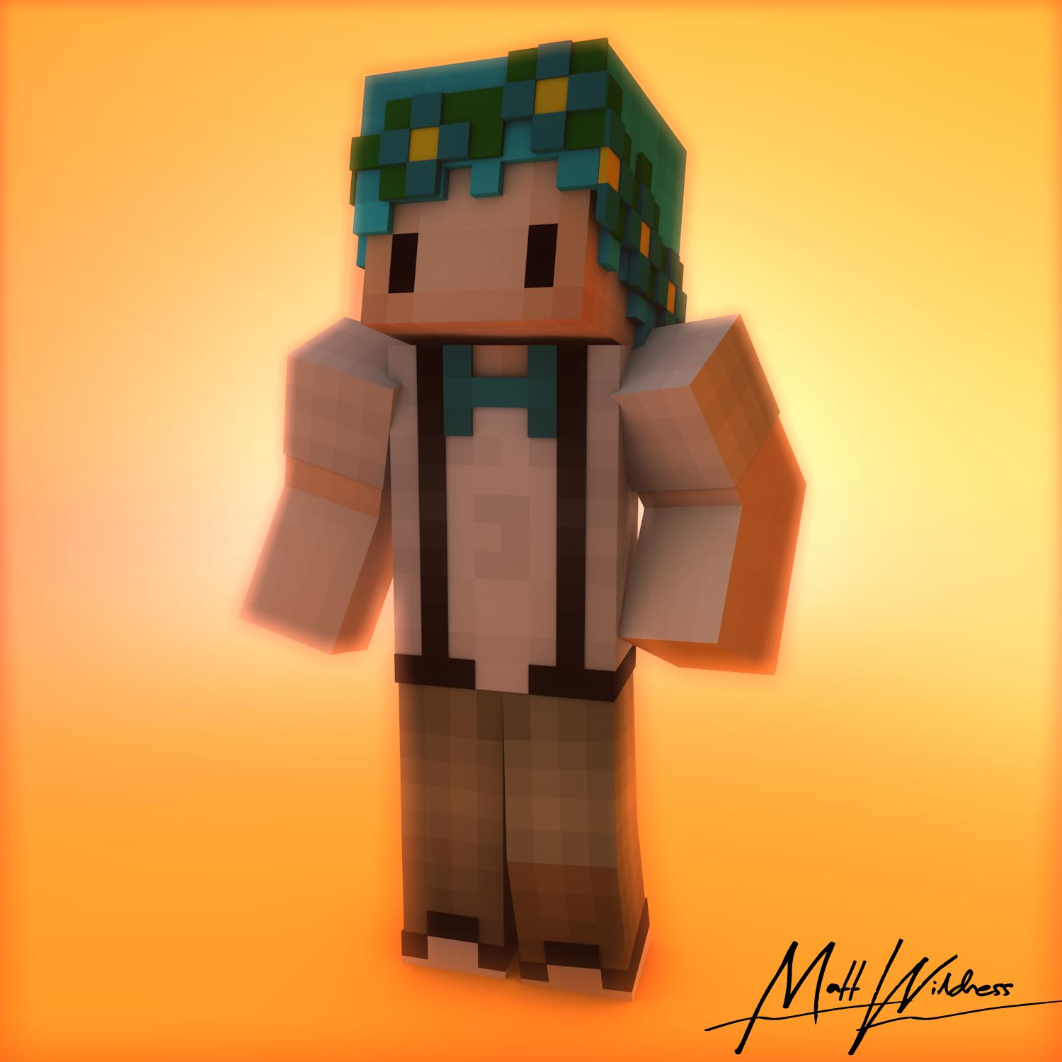Looking For Someone To Make Me A Skin Render 3d Minecraft