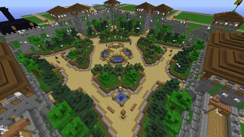 Minecraft Towny Building Ideas