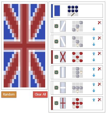 Как сделать флаг в майнкрафте с буквой