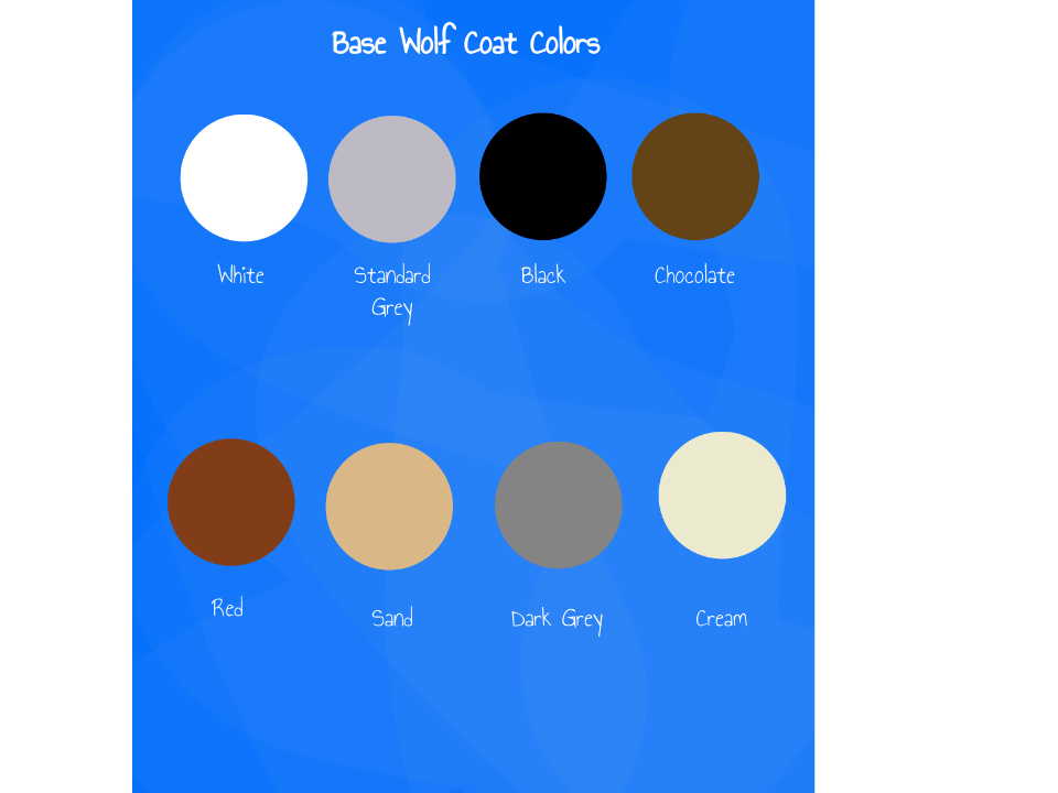 Wolfdog coat variety suggestions minecraft java edition wolf coat colors ccuart Gallery