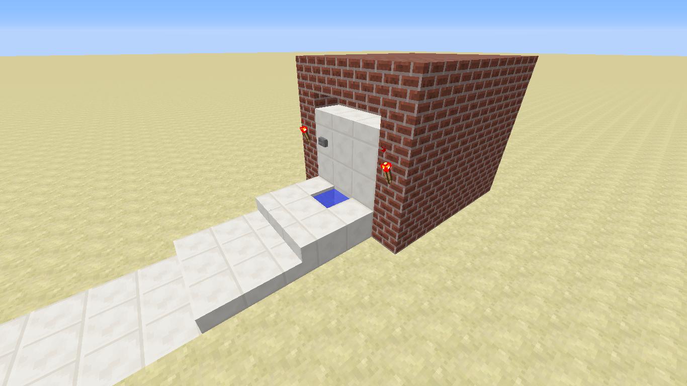 Working Toilet Version 1 SCHEMATIC Creative Mode Minecraft Discussion