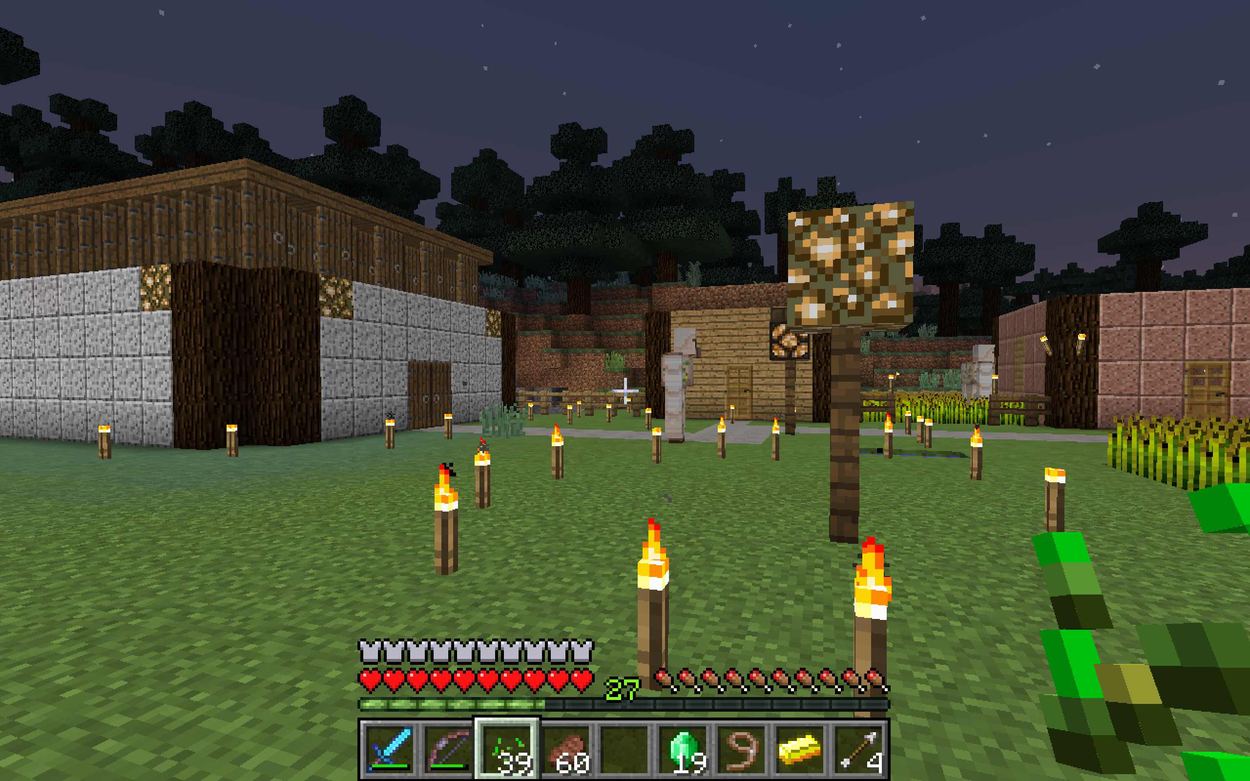 how to talk to minecraft villagers