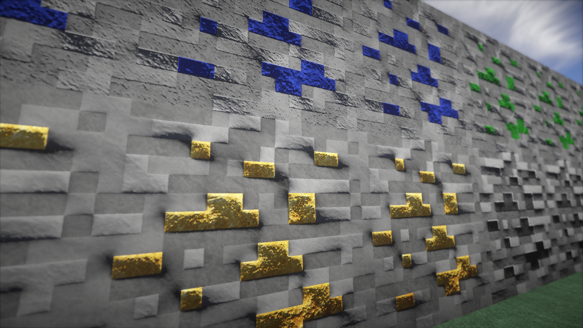 Default Minecraft Texture 512x With Bump Mapping and support to 1.9 [Textura Padrão do Minecraft ...