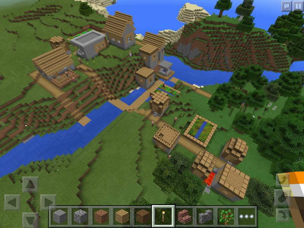minecraft how to use seeds
