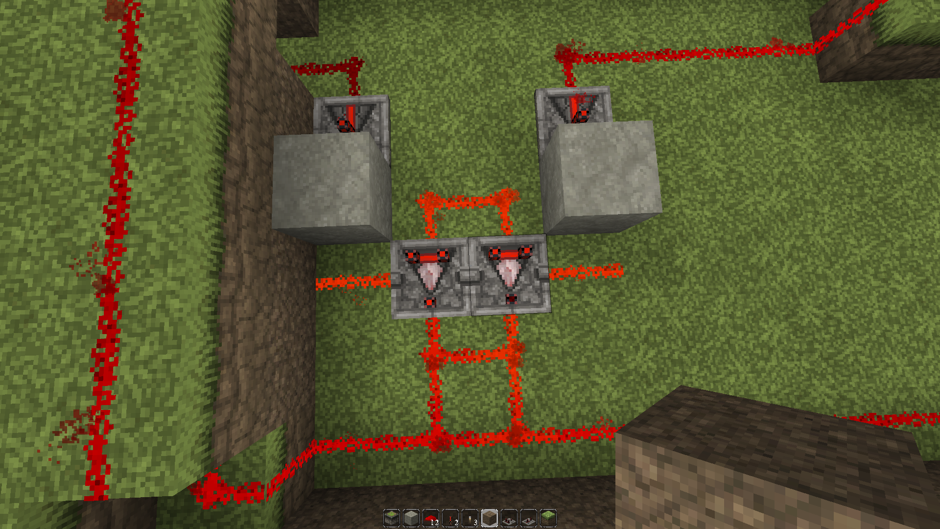 how to make a 2x3 piston door
