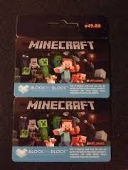 Minecraft (2 Pack) Giftcard - Mojang Account / Minecraft.net ...