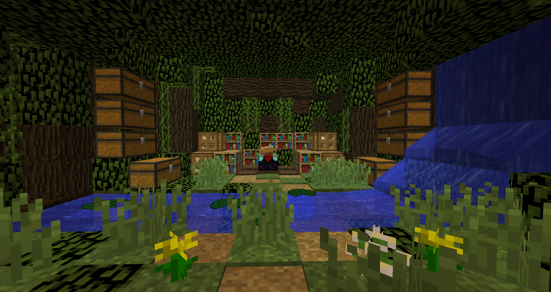 Minecraft Enchanting Room Designs