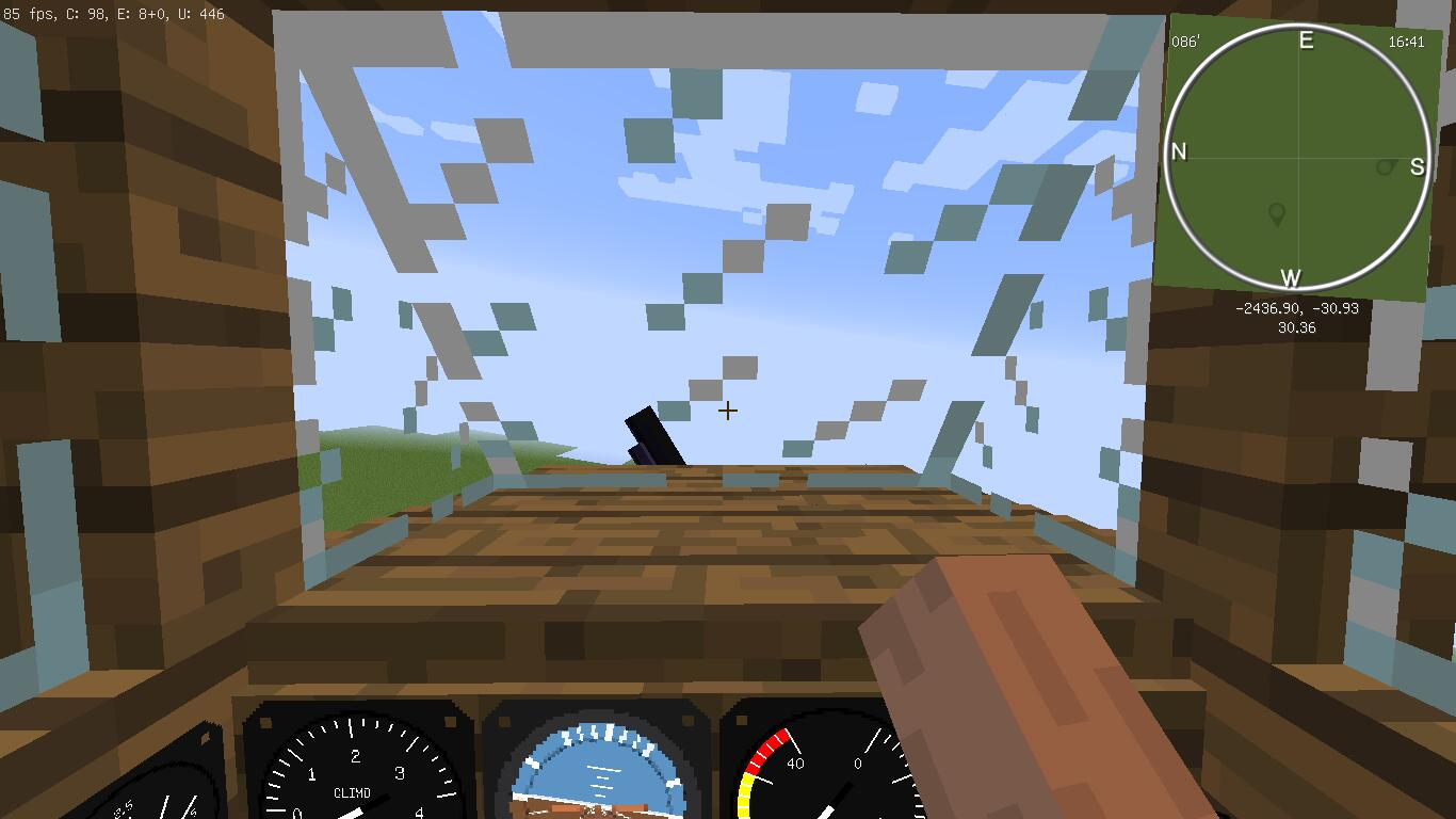 minecraft flight simulator mod how to fly