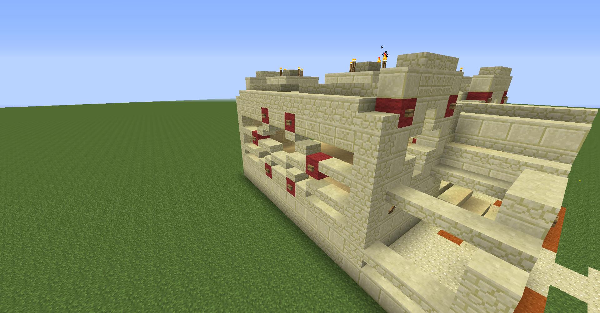 how to build a garden in minecraft creative mode