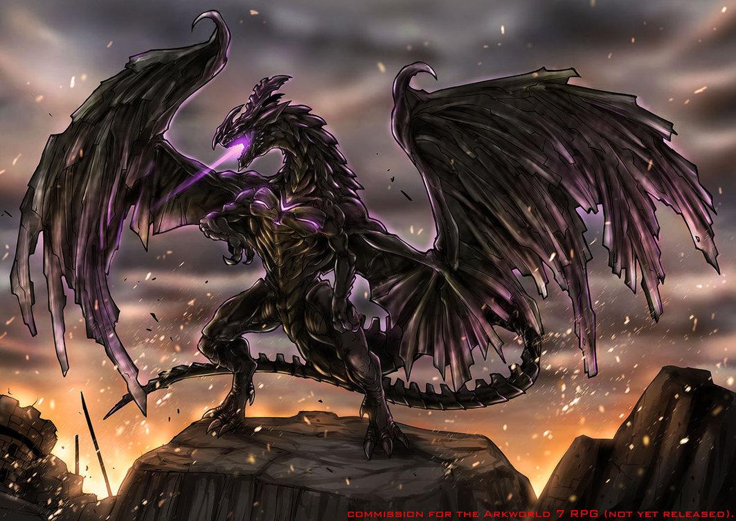 high resolution black dragon - photo #29