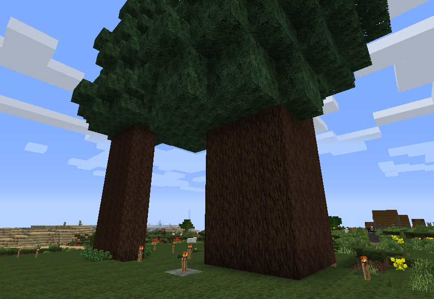 how to grow trees in minecraft