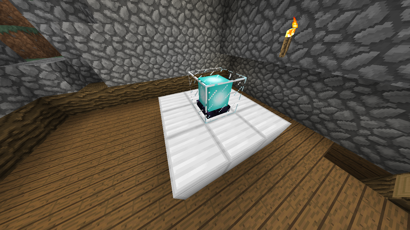 how to build a working beacon in minecraft