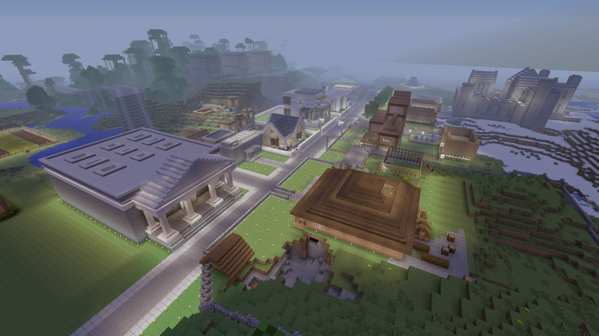 how to build a house in minecraft ps4
