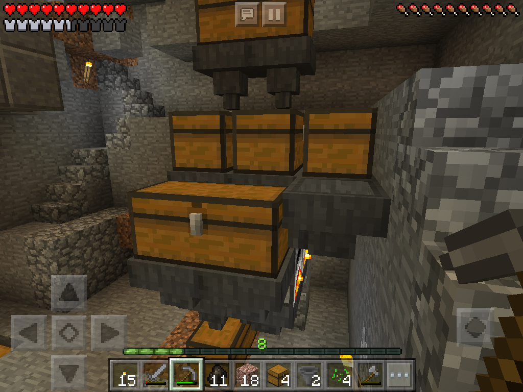how to create a furnace in minecraft pocket edition