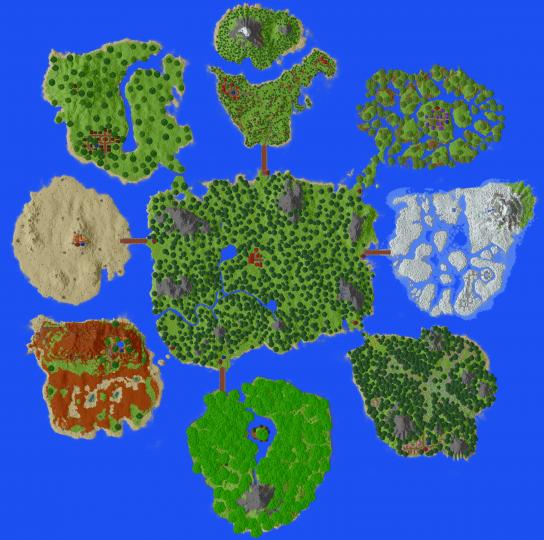 Pixelmon Island Open For Older Generation Pixelmon Lovers