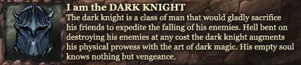 Dark Knight Class