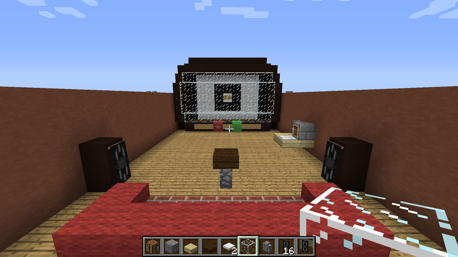 working tv in minecraft customisable maps discussion