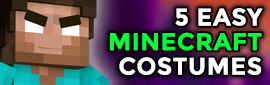 5 Easy Minecraft Halloween Costume Ideas!