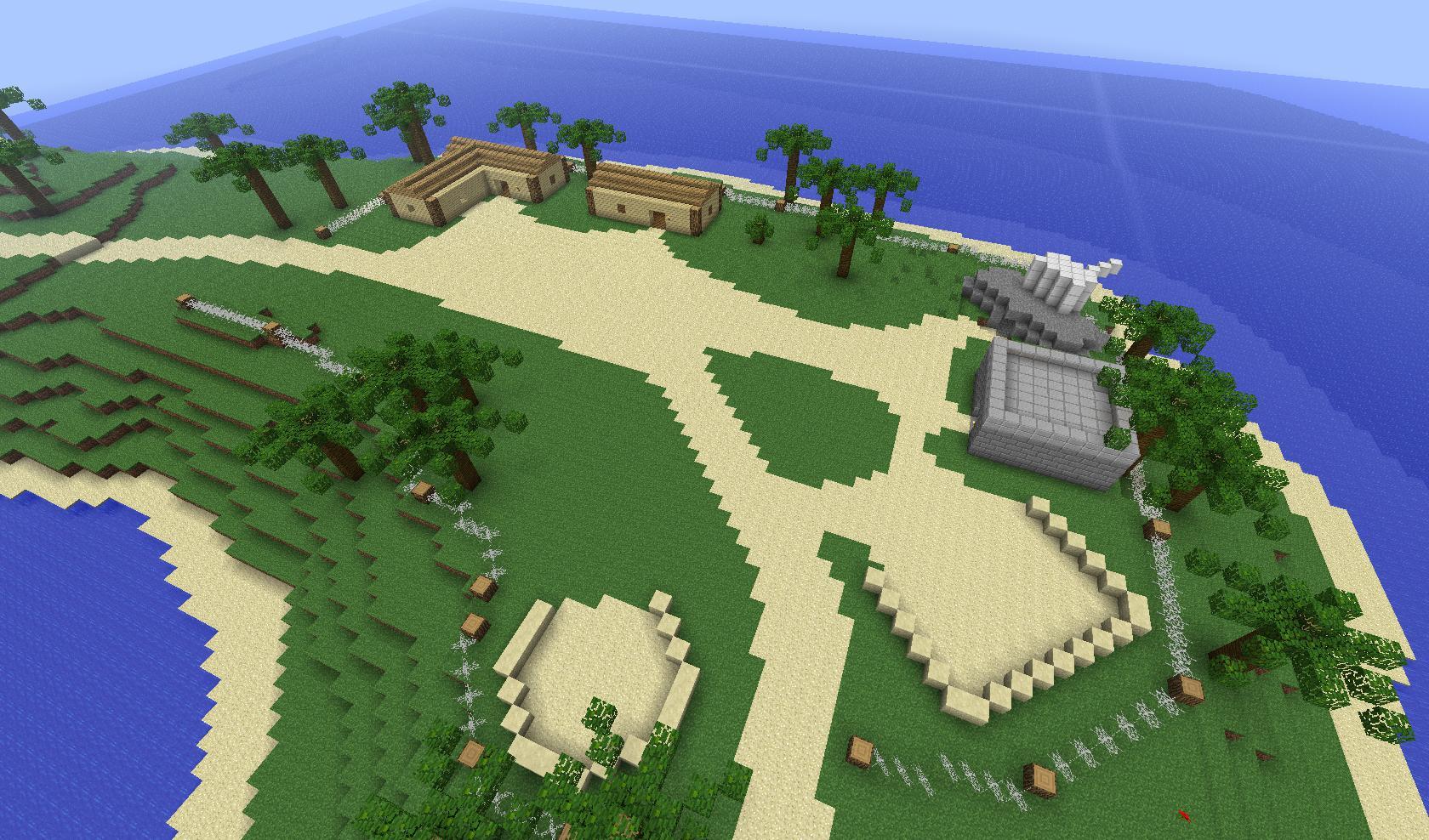 Скачать карты для Minecraft PE 1.1.0/1.0.0 на Андроид