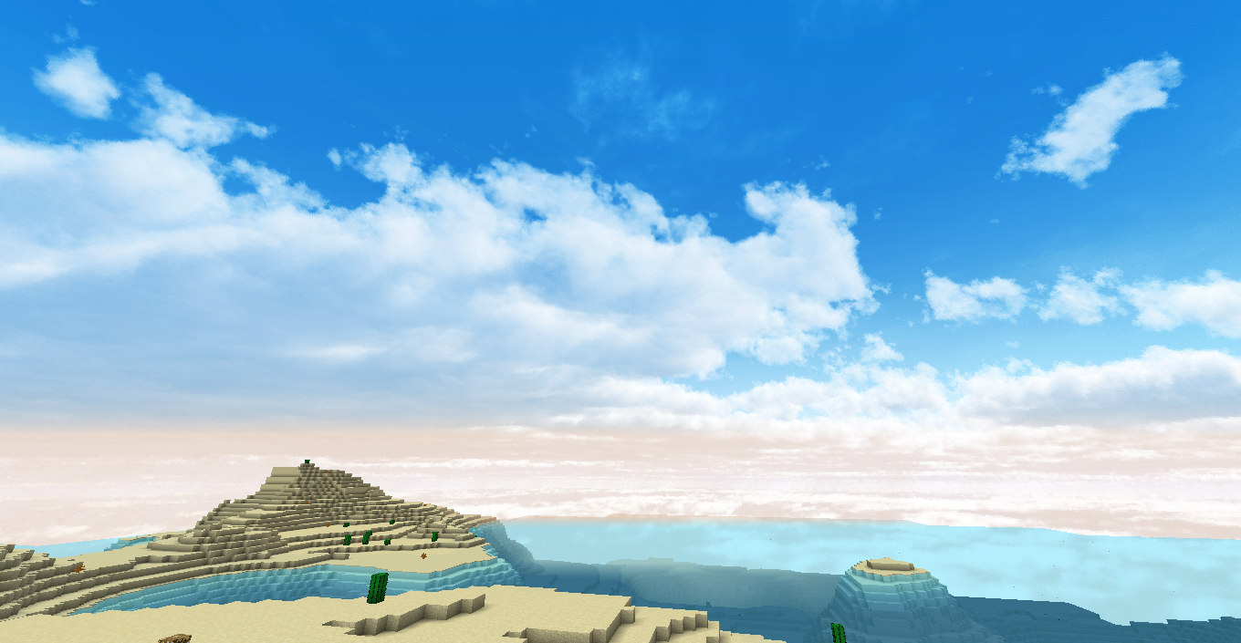 how to make a custom sky in minecraft