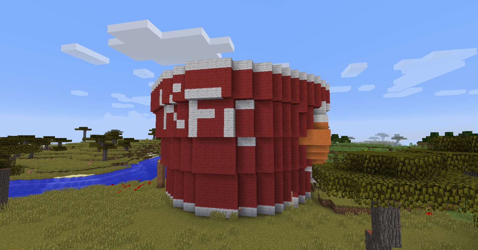how to build a chicken coop in minecraft