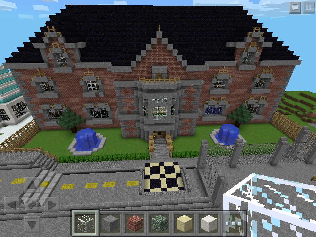 New York City High School MCPE Show Your Creation Minecraft - New york map in minecraft