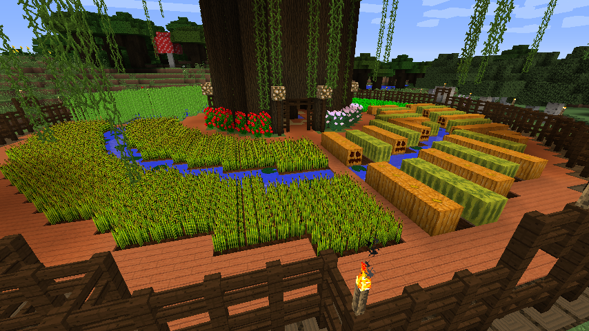 how to make trees grow in minecraft creative mode