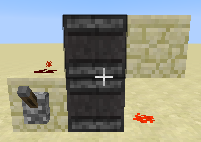 how to make a redstone toggle switch