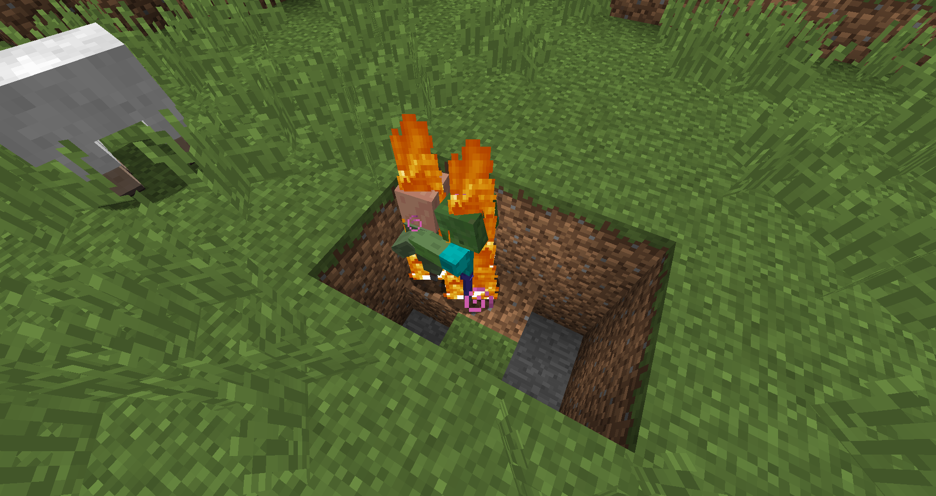 how to make fire in minecraft survival mode